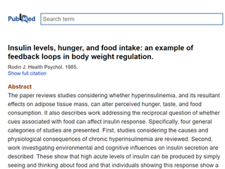 What triggers insulin levels (besides eating, of course)