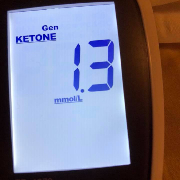 june 19 fasting blood ketones