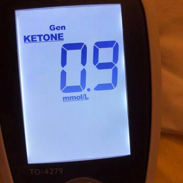 june 18 Post-meal ketones (830 pm