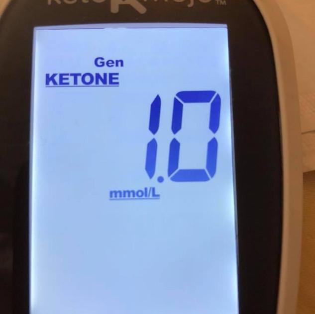 june 19 blood ketones