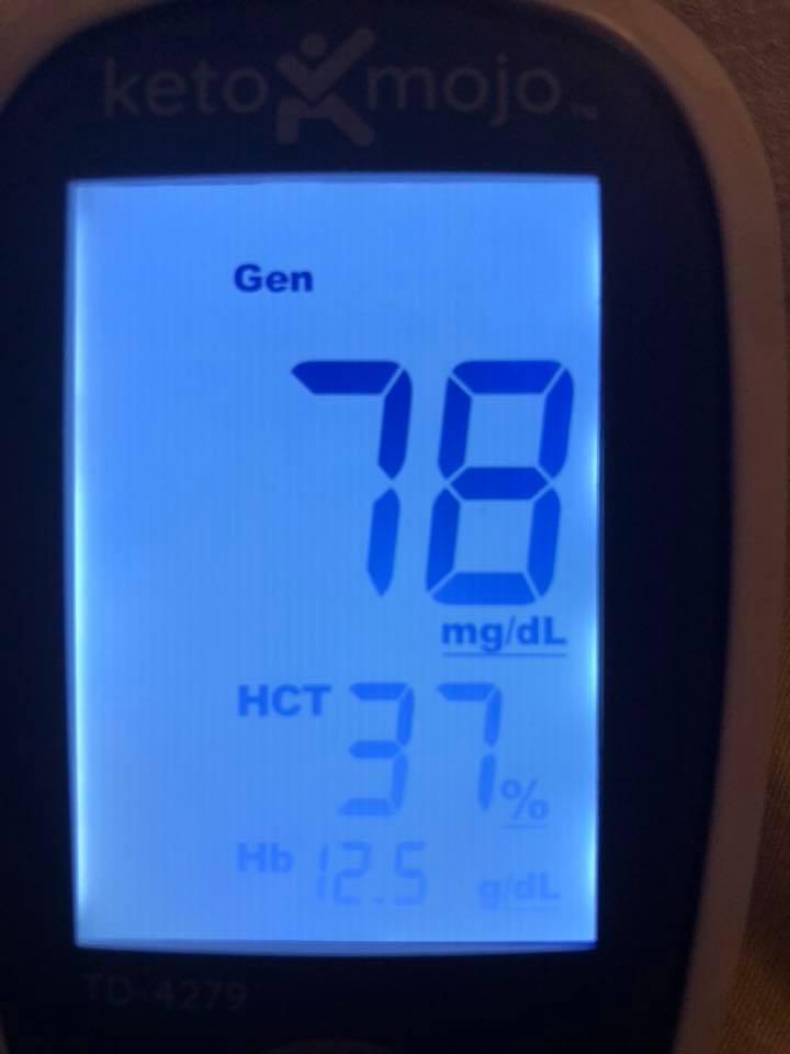 june 17 Blood sugars (9pm)