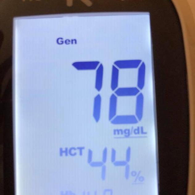 june 19 blood glucose
