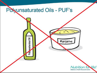 What's wrong with MARGARINE and VEGETABLE OILS, you may ask?