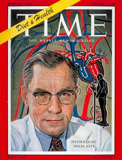 Ancel Keys Times Cover 1961