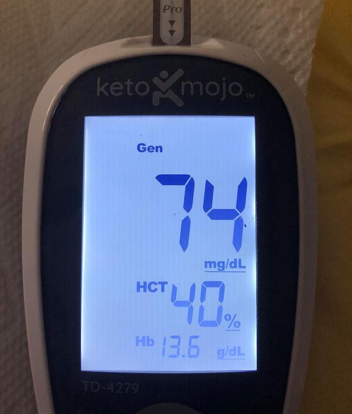 June 14 Blood sugars pre-meal (5 pm)