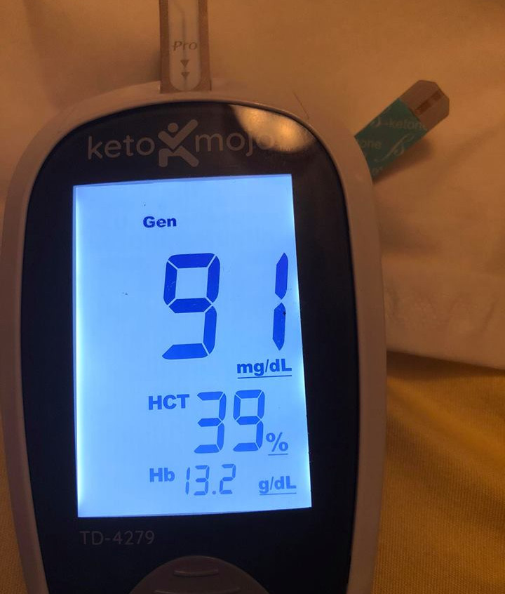 June 14 Blood sugars 2 hour after meal (dairy)