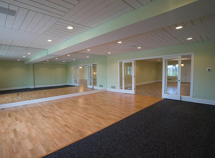 Basement gym option