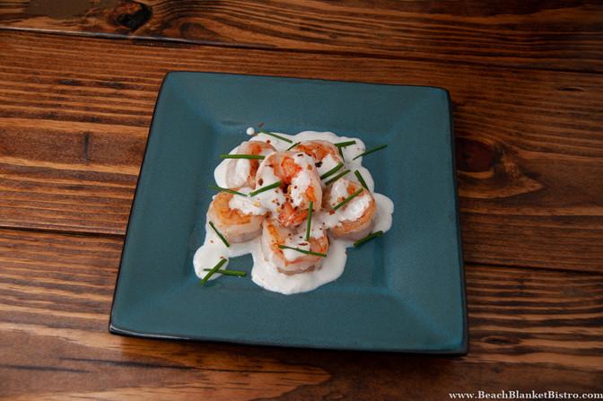 Shrimp in Coconut Ginger Sauce