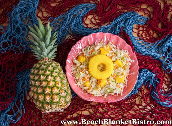 Pineapple Slaw- Recipe