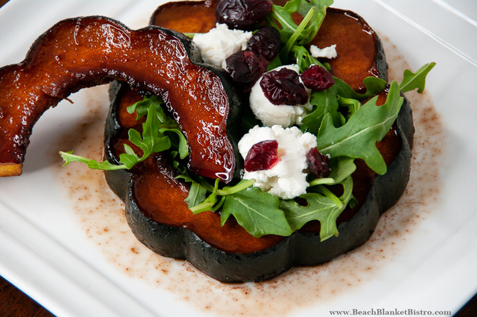 Sweet and Smoky Acorn Squash