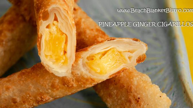 Pineapple Ginger Cigarillos