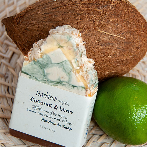 Coconut & Lime- Handmade Soap from Harbison Soap Company