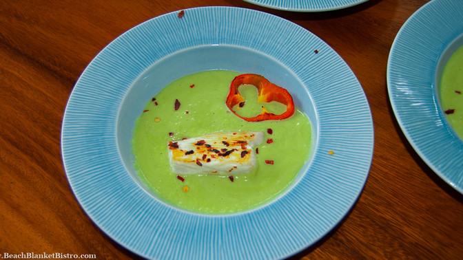 Fish with Avocado Sauce ala Nosara