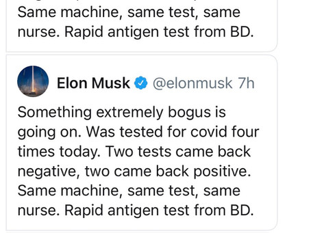 This is an interesting tweet from Elon Musk today.