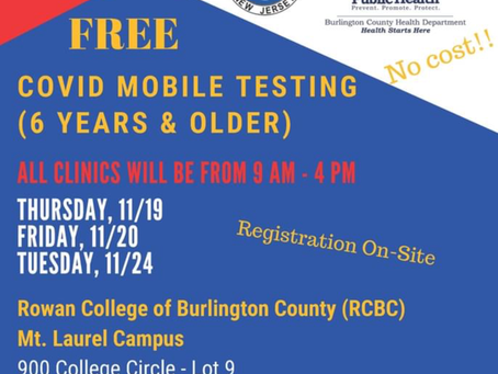 Free COVID a testing at RCBC
