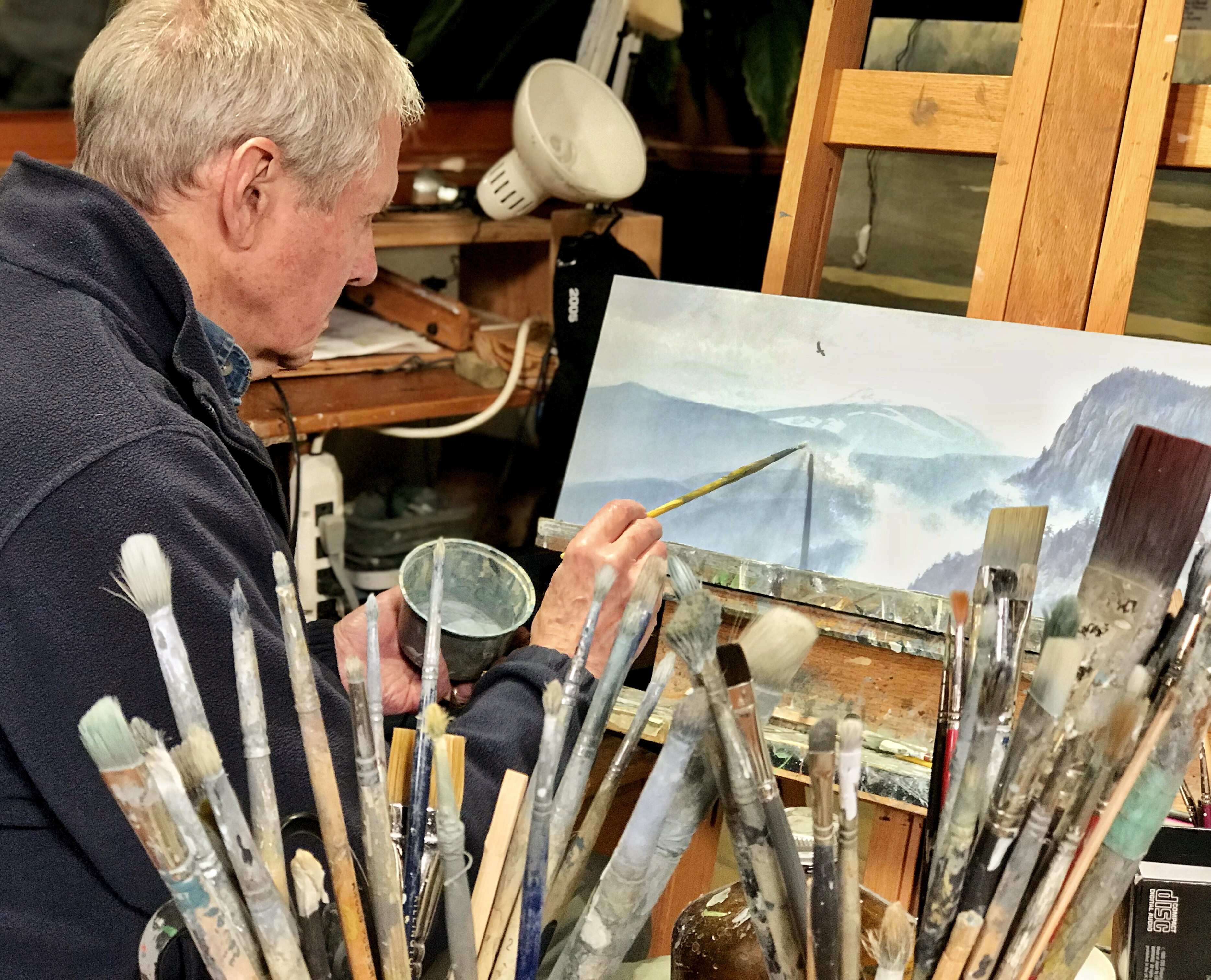 02 Robert Bateman Painting 2