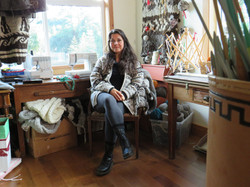Joni Olsen Coast Salish Knitter