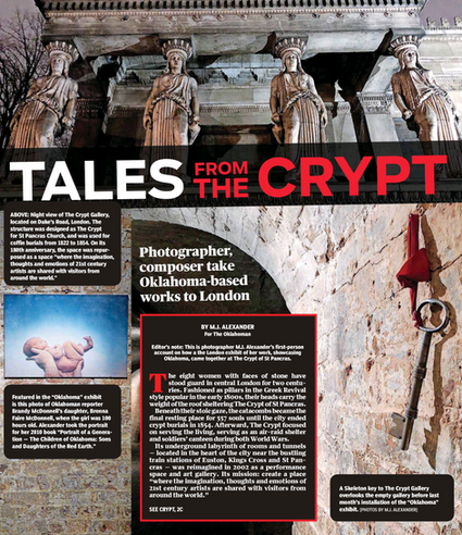 TALES FROM THE CRYPT: PHOTOGRAPHER, COMPOSER TAKE OKLAHOMA-BASED WORKS TO LONDON