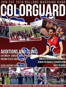 Fresno State Colorguard