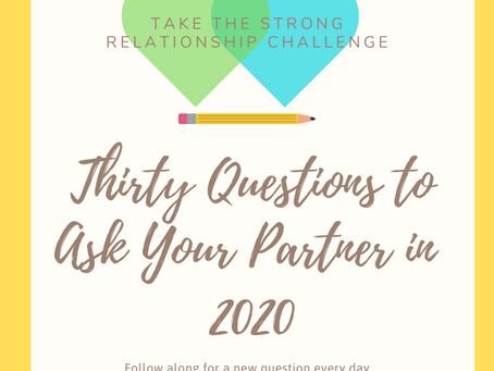 30 Questions to Ask your Partner in 2020
