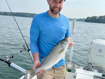 Lake Hartwell Fishing Report - May 7, 2021