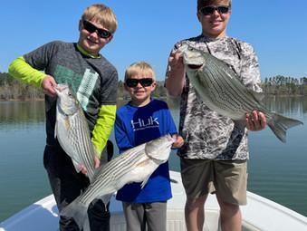 Lake Hartwell Fishing Report - April 15, 2021