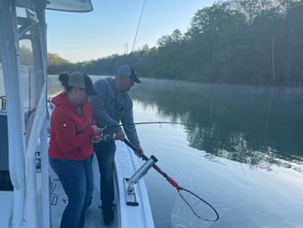 Lake Hartwell Fishing Report - April 22, 2021