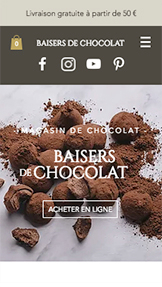 Trouvez votre Template website templates – Boutique du chocolat