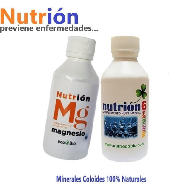 Nutrion MG y & 6Minerales