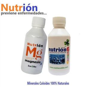 Nutrion MG y & 6Minerales