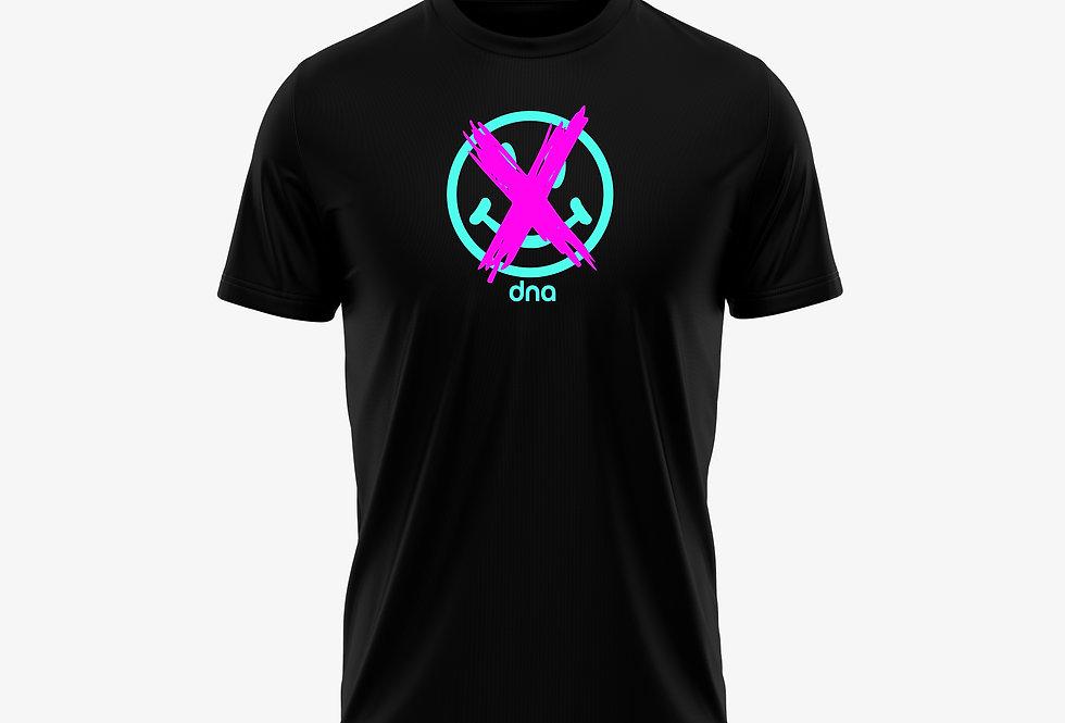 DNA SmileyT-Shirt Black