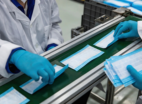 Do you manufacture specific products related to the pandemic?