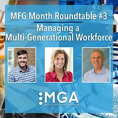 Panel Set for Final MGA Event of Series