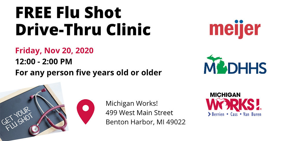 FREE Flu Shot Drive-Thru Clinic - Michigan Works