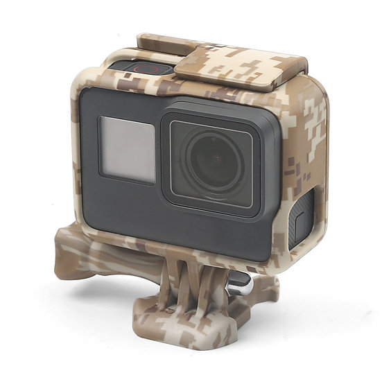 Protective Frame Mount Case Housing Camouflage Camo GoPro Hero 5 6 7