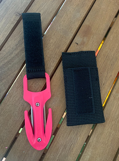 Scuba Diving Spearfishing Fishing Twin Blade Pro Line Cutter Pink With