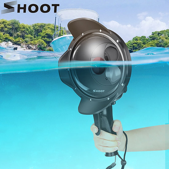Scuba Diving Dome Port Waterproof Housing Case Macro Red Filter GoPro 7 6 5