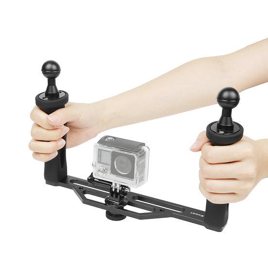 Diving Underwater Stabiliser Arm Ball Light Mount GoPro Xiaomi Sjcam Dome Port