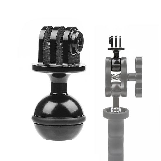 CNC Ball Head Camera Tripod Holder Bracket Adapter Clamp GoPro