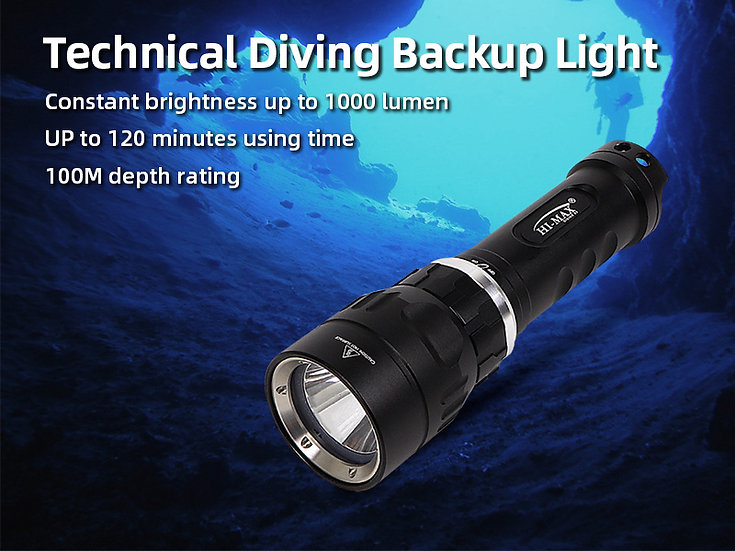Hi-Max X5 LED LIGHT CREE XM-L U2 1100 LUMEN