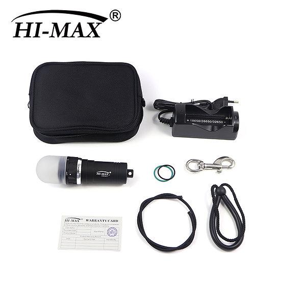 HI-MAX STROBE Scuba Diving Led Light Safety Kit 2500 Lumen