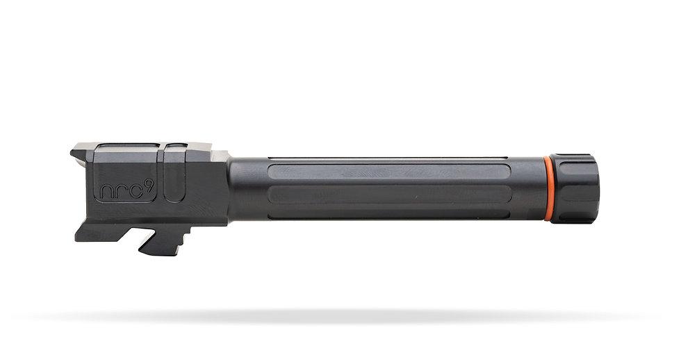 Arc9 Glock 19 Barrel | Fluted | Threaded | Match Series | Gen 3-5