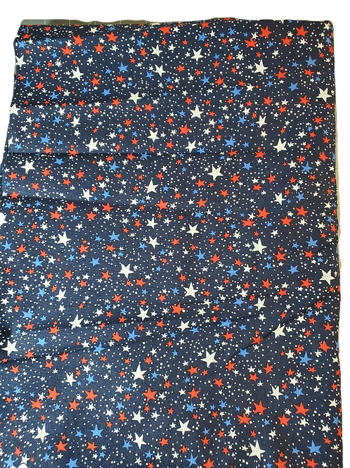 Patriotic Stars Face Masks with Filter Pocket