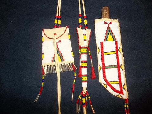 Womens Traditional Dance Belt Set
