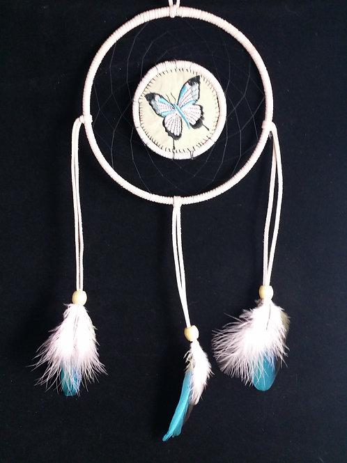 Butterfly Shield Dream Catcher