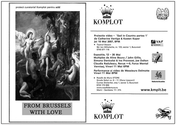 From Brussels, With Love 2017 Komplot