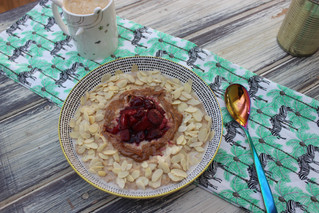 Cherry Bakewell Porridge