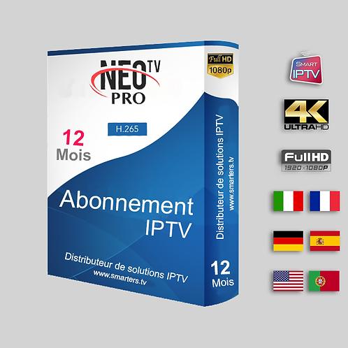 NEO TV Pro - 12 Mois