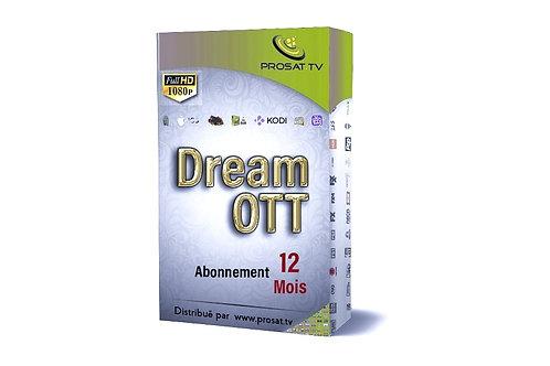 DREAM OTT FULL HD-4K 12 Mois
