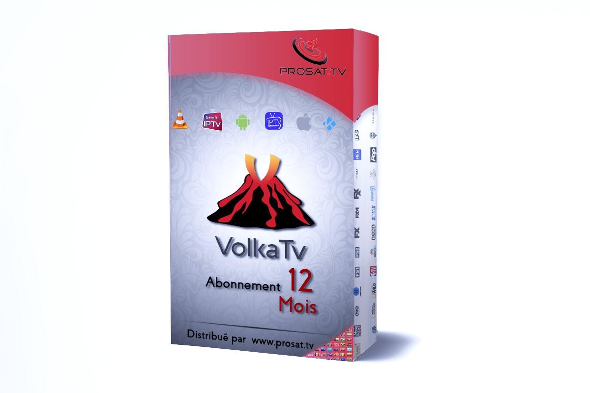 abonnement iptv, VOLKA TV PRO 2